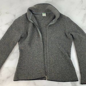 United Colors of Benetton Zip Up Cardigan Sweater